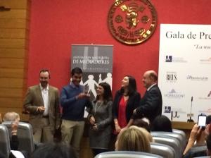 Premio al Mejor Proyecto de Fin de Curso de Mediación
